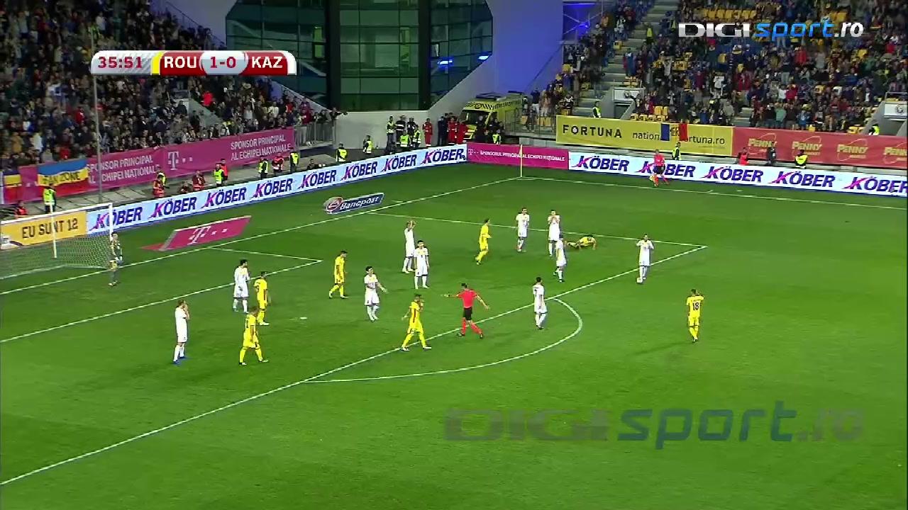 Video | România - Kazahstan 3-1  E altceva cu Budescu! Mijlocașul